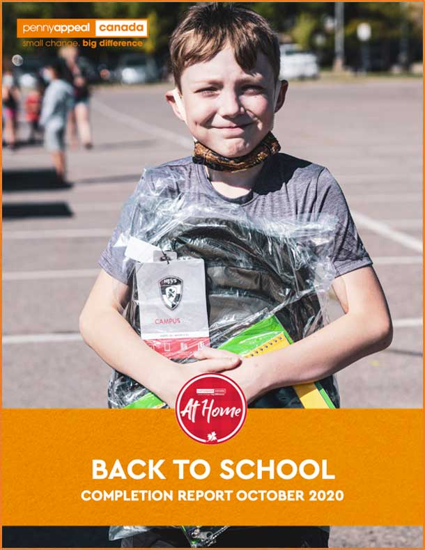 Back To School Completion Report October 2020