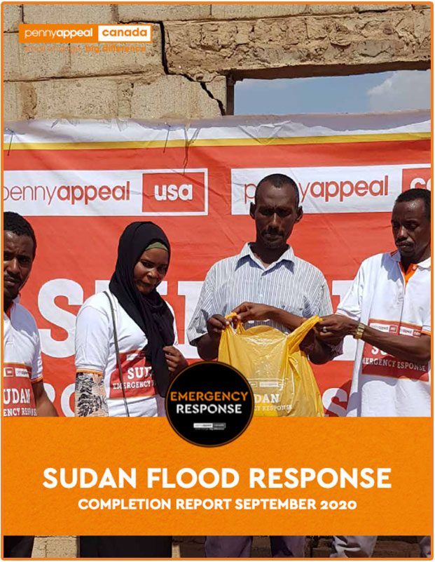 Sudan Flood Response Completion Report September 2020