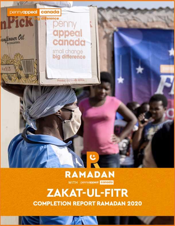 Zakat-Ul-Fitr Completion Report Ramadan 2020